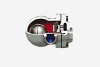 Float type steam traps